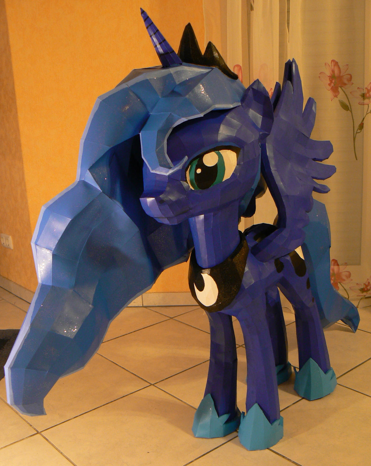 Luna, princess of the night 2 by Znegil