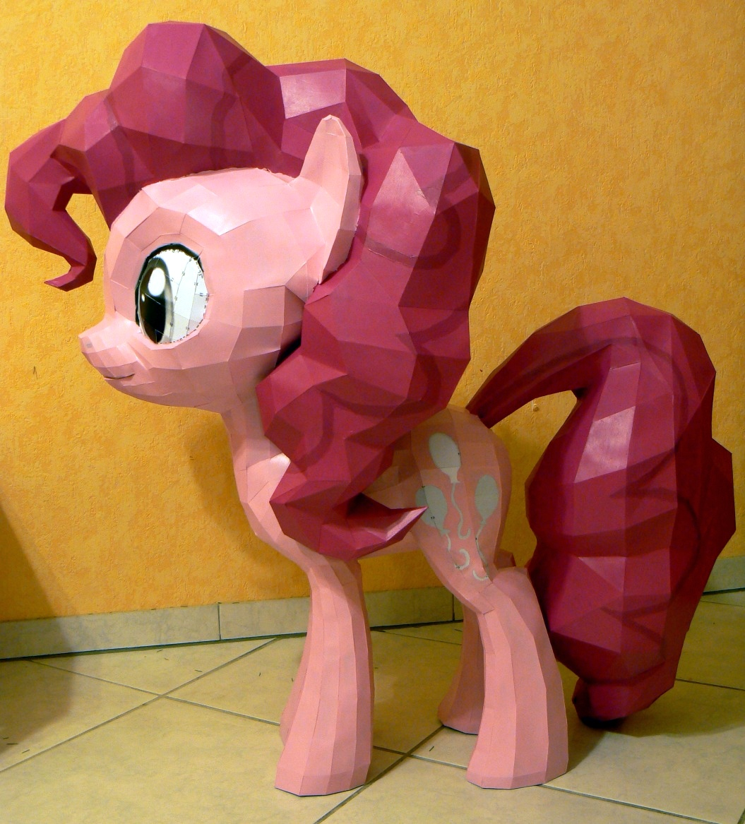 Pinkie Pie 11.Update - 90% done by Znegil