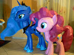 Pinkie and Luna - Chaos and Night