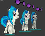 Vinyl Scratch Papercrafts - low medium high detail