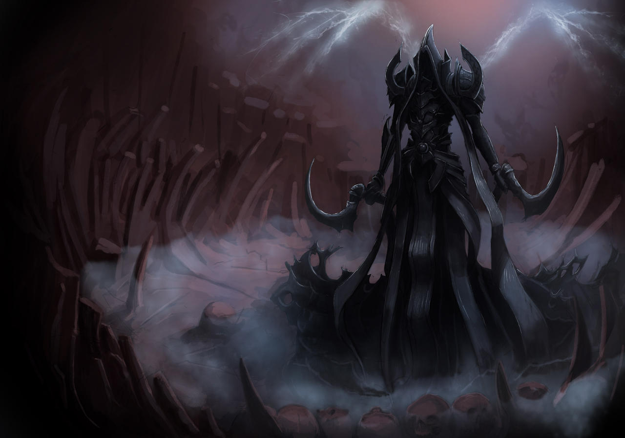Diablo 3 Ros Wallpaper: Malthael By Foreest83 On DeviantArt
