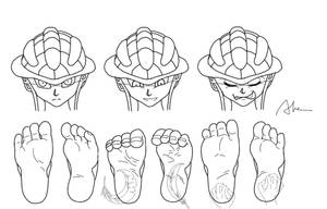 Play with feet  5 by Alma1129