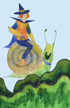 snail wizard