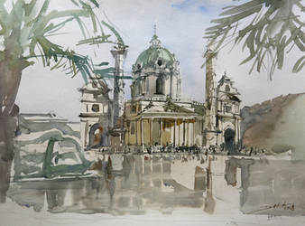 Karlskirche by NiceMinD