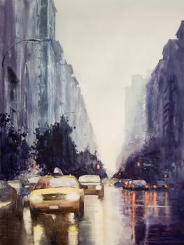 Side of Rain, New York