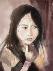 Little Girl from Sapa, 61x46cm by NiceMinD