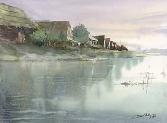 Rural Landscape, 30x40cm