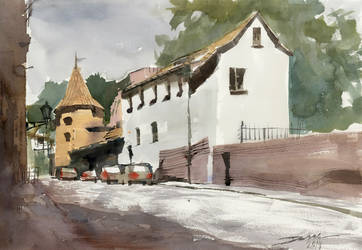 Podmorna Street, 36x51cm by NiceMinD