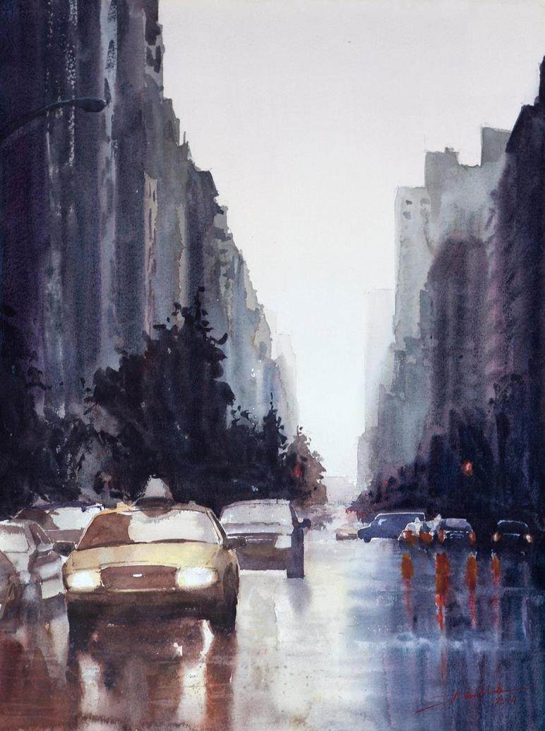 New York ver.3, 61x46cm by NiceMinD