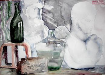 Still Life in Watercolor 2