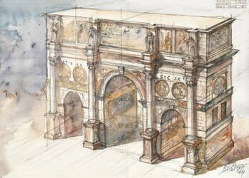 Konstantin Monumental Arch III by NiceMinD