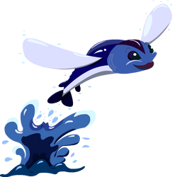 Vector Bug-Flying Fish by farcypenguin