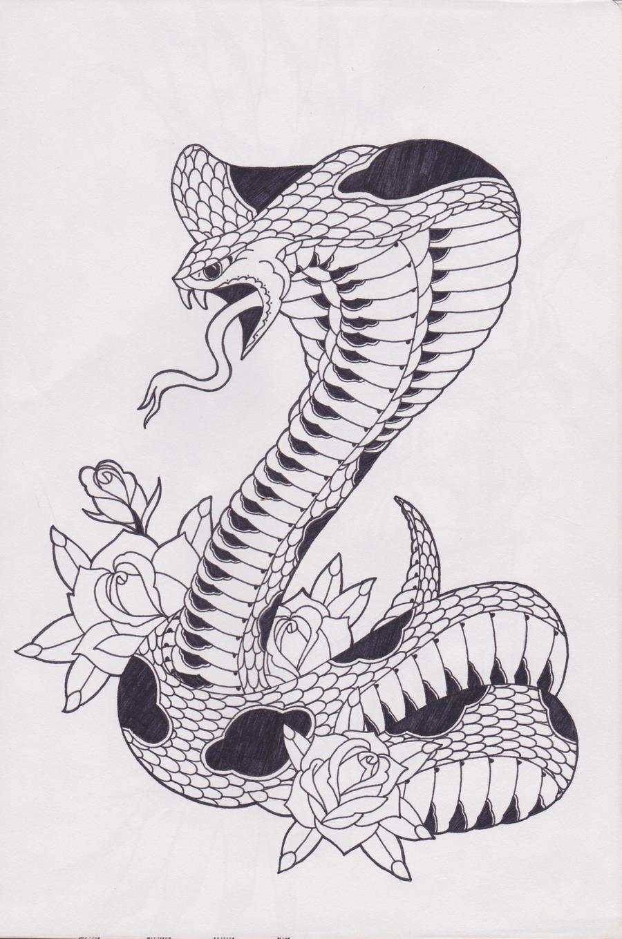 king cobra by bloodempire on deviantart. Black Bedroom Furniture Sets. Home Design Ideas