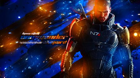 Commander Shepard by screamz16