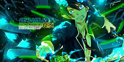 Okumura Rin by screamz16