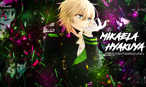 Mikaela Hyakuya From Owari no Seraph by screamz16