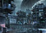 not too distant future slums