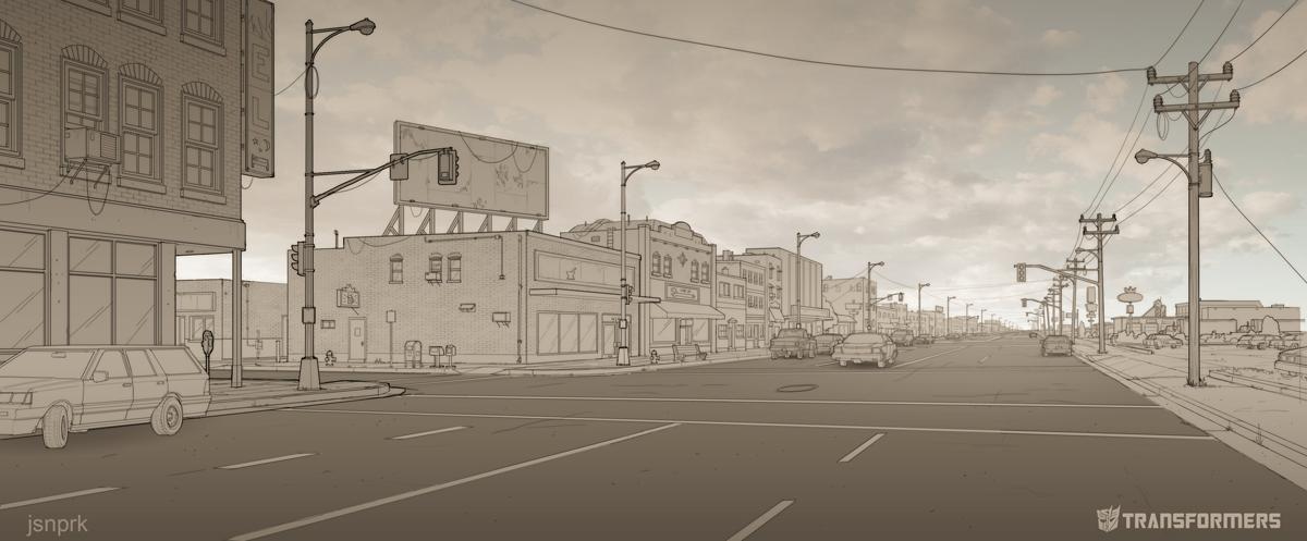 EXT JasperCity MainStreet by orangehexagon