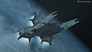 Decepticon Prison Transport Concept 1.3a