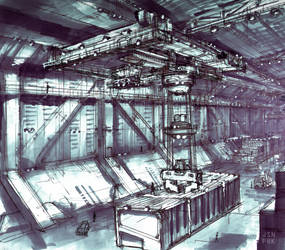 Warehouse Sketch01