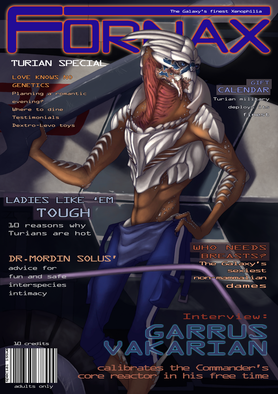 Fornax Turian Special by CreepyCatProductions