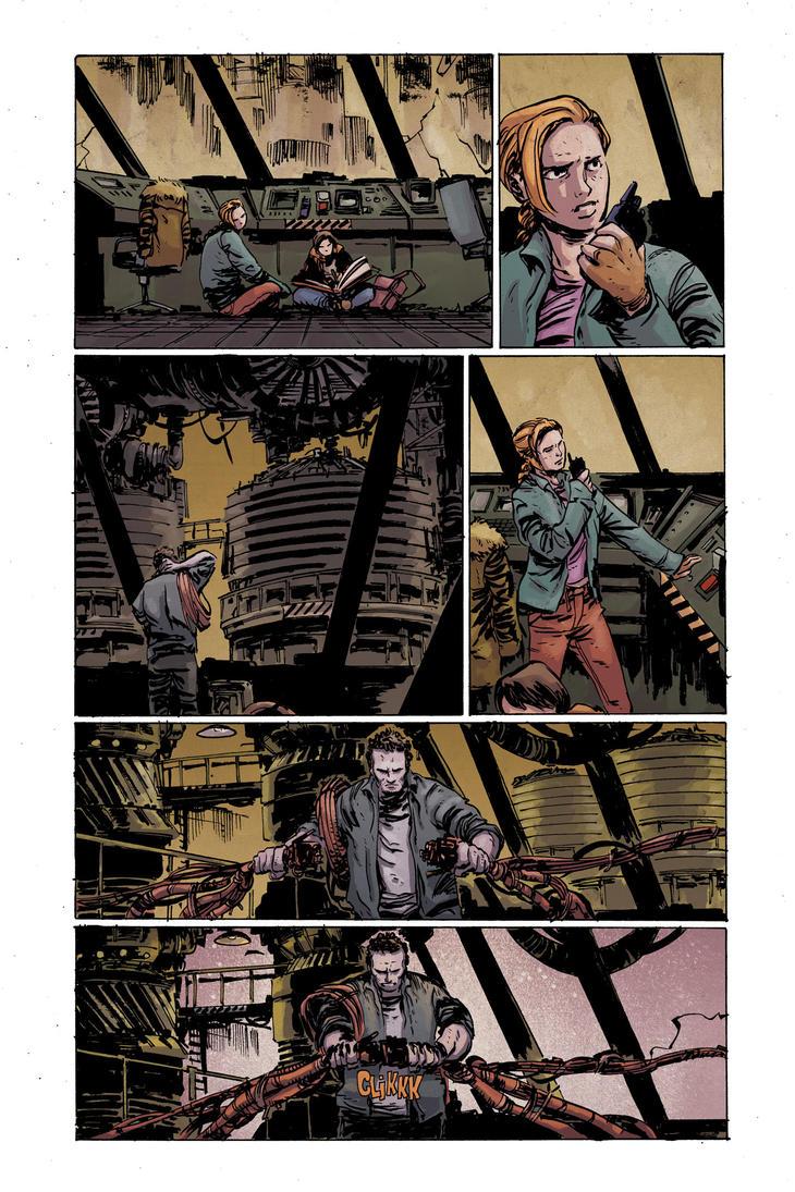 Planet of the apes #1 pg2 colors by JasonWordie