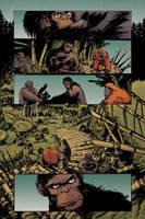 Planet of the apes #1 pg5 colors by JasonWordie