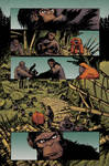 Planet of the apes #1 pg5 colors