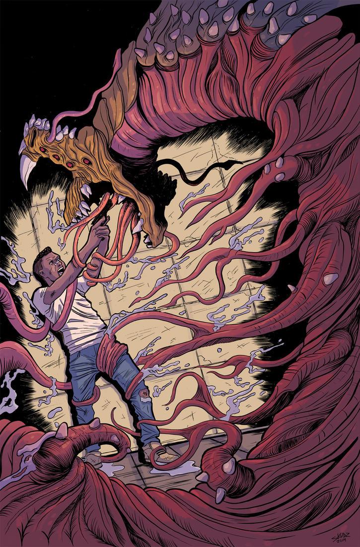 Plunder #2 Cover Colors by JasonWordie