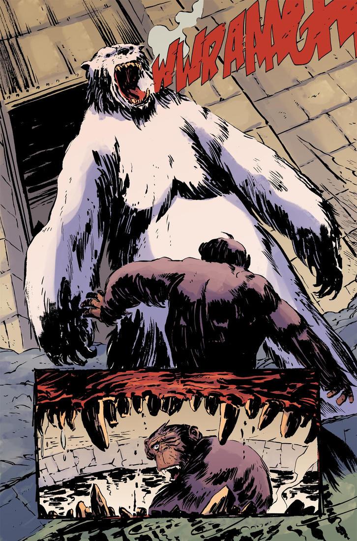 Planet of the apes #4 pg8 colors by JasonWordie