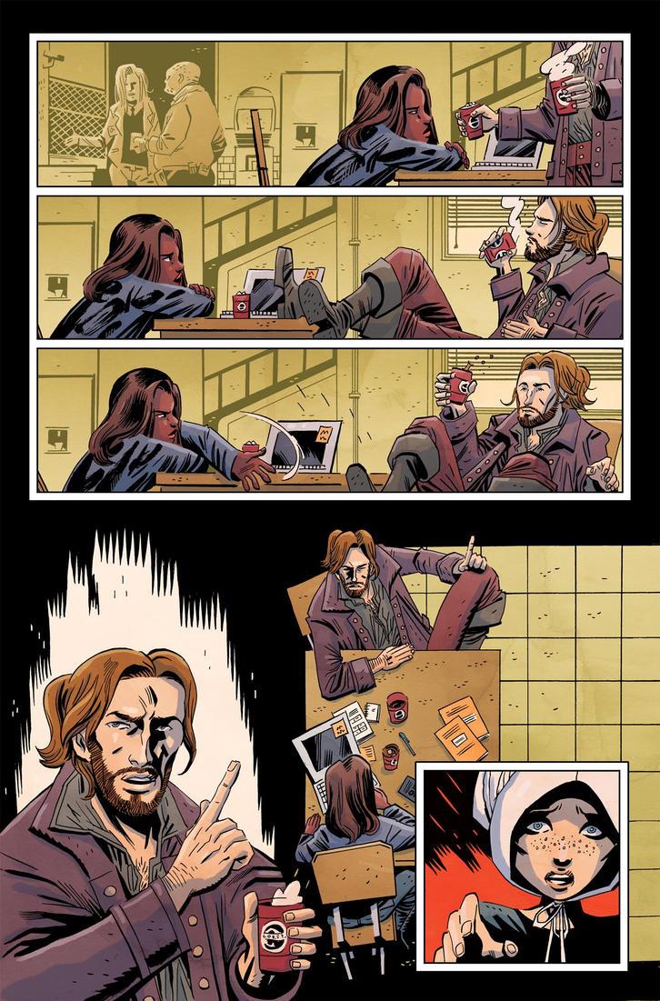 Sleepy Hollow Providence #1 pg8 Color by JasonWordie