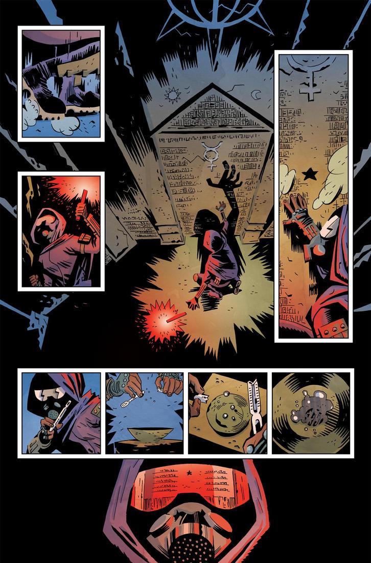 Sleepy Hollow Providence #1 pg1 Color by JasonWordie