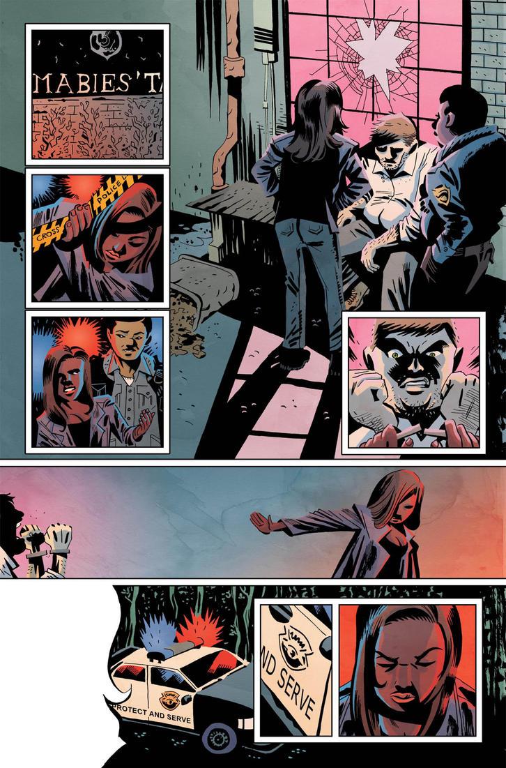 Sleepy Hollow Providence #1 pg5 Color by JasonWordie