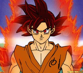 Goku - The Super Saiyan God