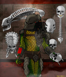 Trophy Hunter by Darth-Pravius