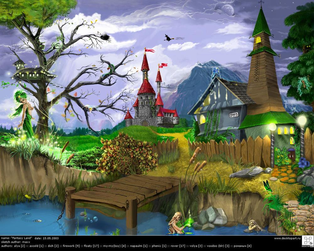 Fantasy Land by desktopart