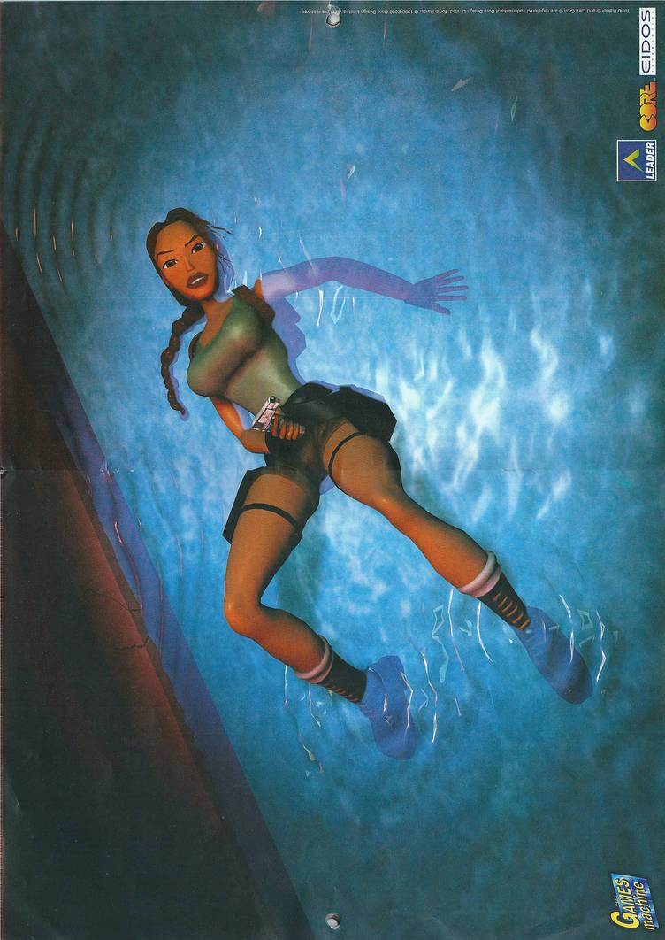 Tomb Raider Calendar 2001 Special Poster By Drakecroft On Deviantart