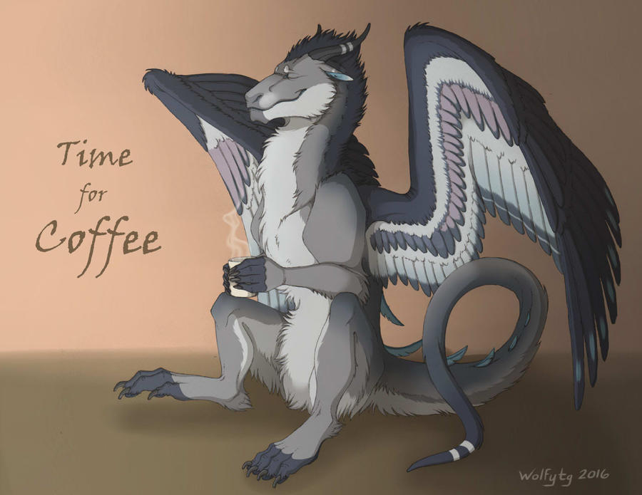 Com: Time for Coffee by wolfytg