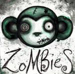 zombie monkey by effluo