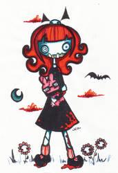 sketch for zombiebunny0
