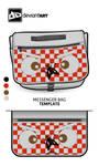 Cubism-Messenger-Bag- The Fly
