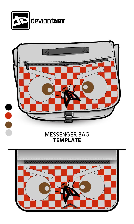 Cubism-Messenger-Bag- The Fly by pikkupr