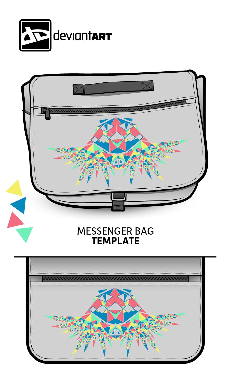 Cubism-Messenger-Bag- Fun wid Triangles