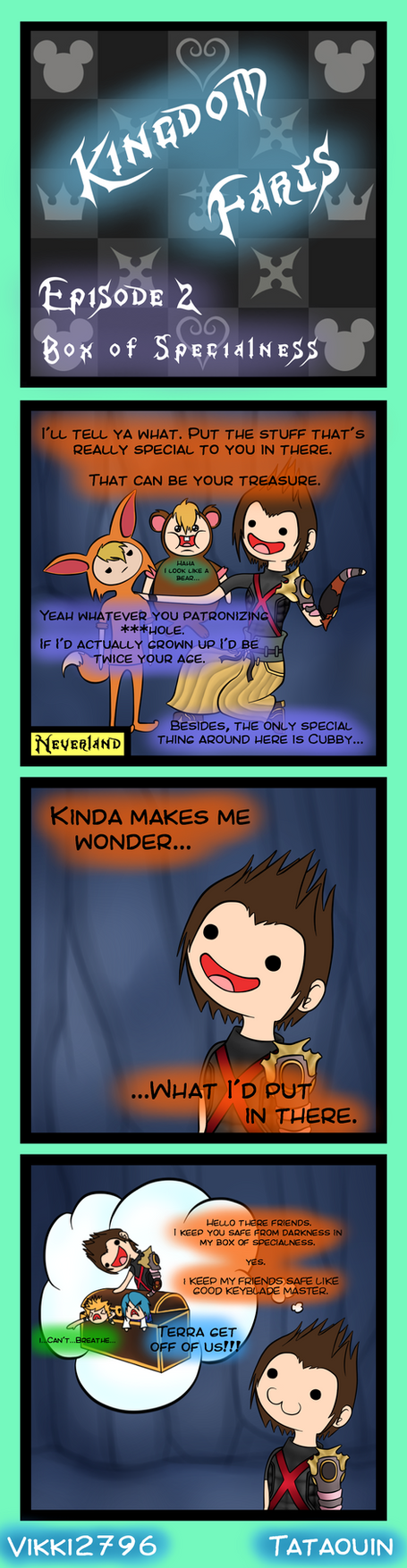 Kingdom Farts Episode 2 - Box Of Specialness by HeyVikkiTime
