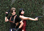 Leon and Ada Wong