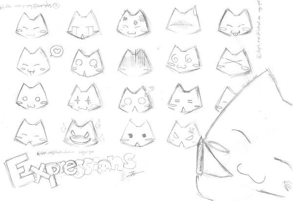 Expressions by xYoruNekox