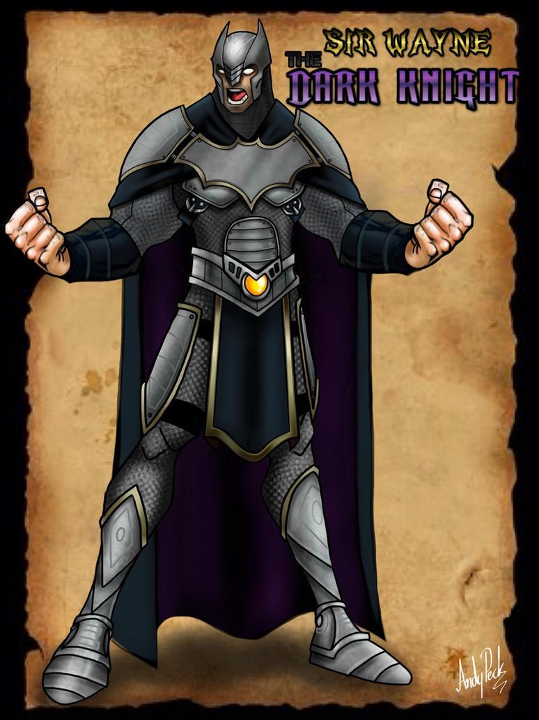 Sir Wayne The Dark Knight by dj-andy
