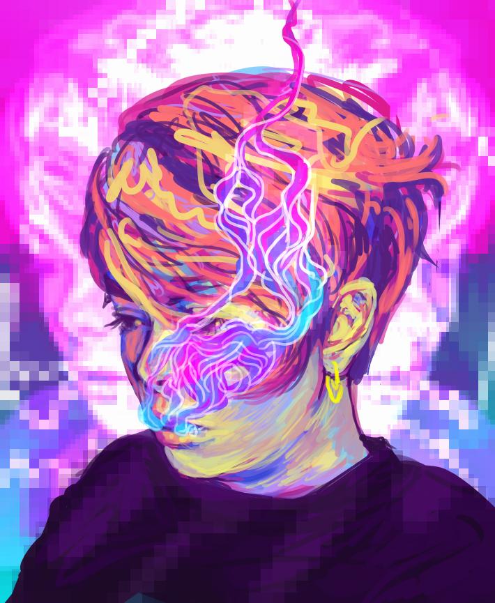 Pixelsmoke by kurkurkur
