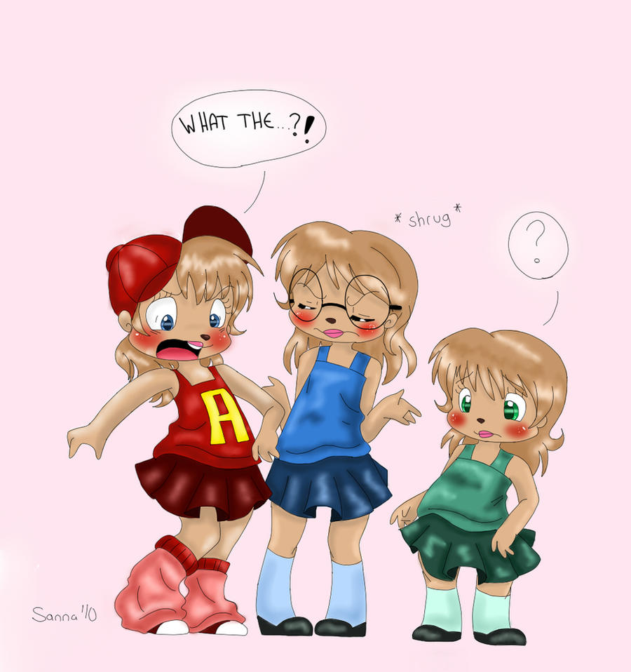 Alvin and the chipettes  by TheChipMunksFanAlvin And The Chipmunks And The Chipettes Toys
