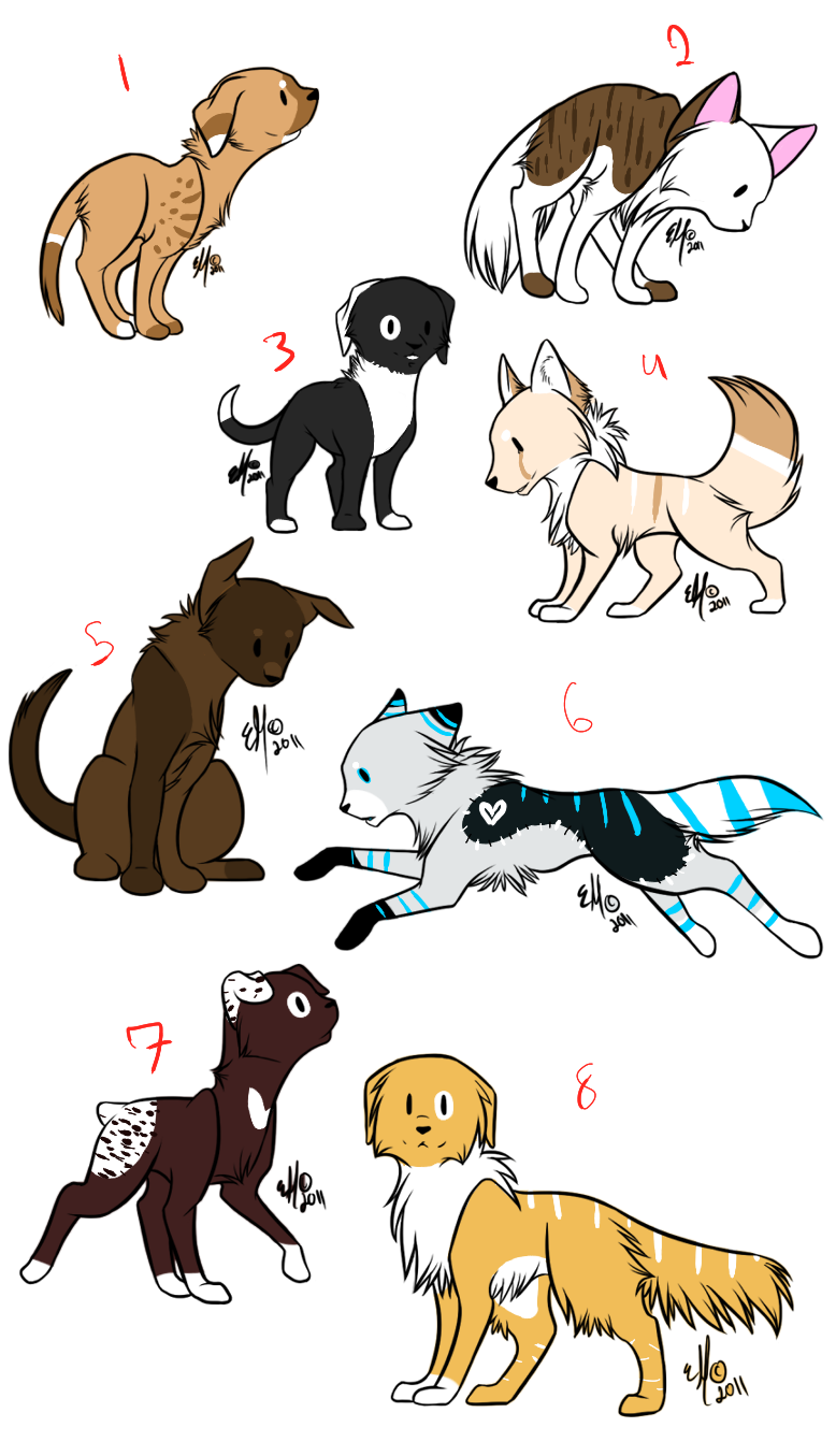 puppy adopts -open- by echoing-adopts